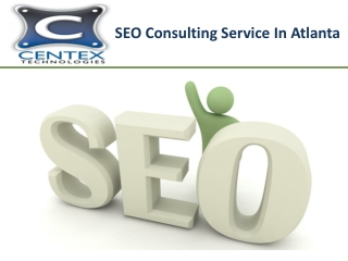 SEO Consulting Service In Atlanta