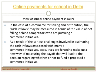The Best Way to Pay for Advice for payment for school in Del