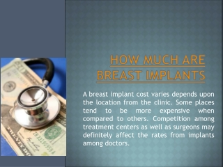 How Much Does Breast Implants Cost