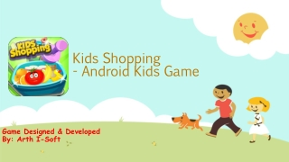 Kids Shopping - Android Kids Game