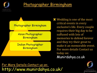 Asian photographer birmingham