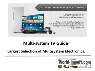 Multi-system-TV-Guide