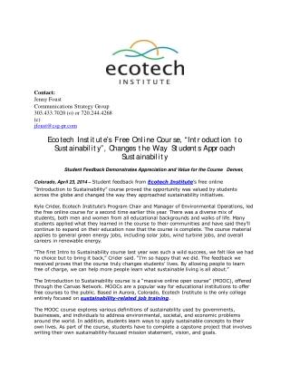 Ecotech Institute