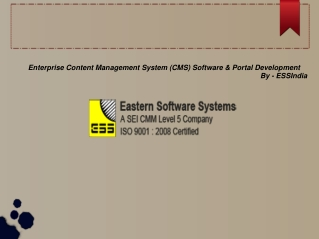Enterprise Content Management System - ESSindia