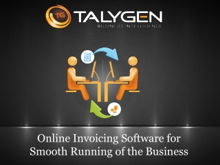 Online Invoicing Software for Small Business – Talygen