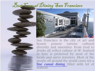 Best Casual Dining San Francisco