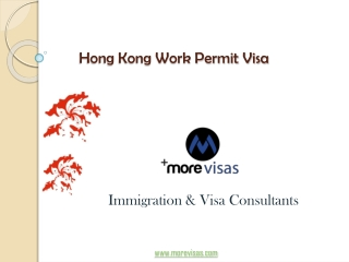 Hong Kong Work Permit Visa