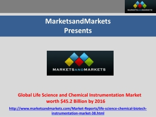Global Life Science and Chemical Instrumentation Market wort