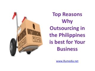 Top Reasons Why Outsourcing in the Philippines is best for