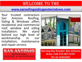 Roofer San Antonio - Remodeling contractor