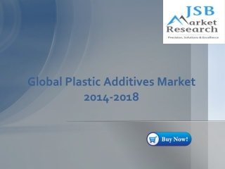 Global Plastic Additives Market 2014-2018