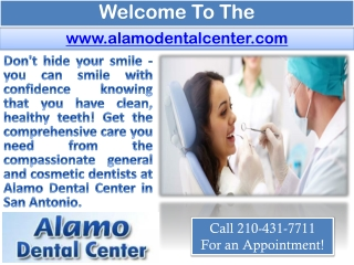 San Antonio Family Dentist - Cosmetic Dentist - Teeth Whiten