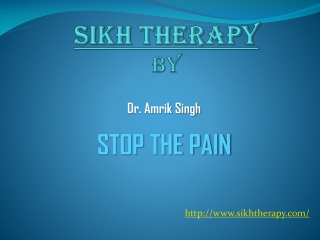 Sikh Therapy