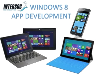Windows 8 App Development