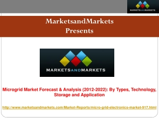 Microgrid Market worth $27 Billion - 2022