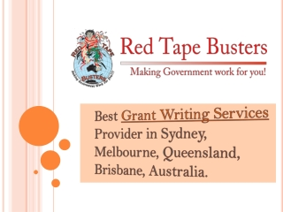 Best Grant Writing Services