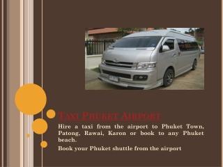 Phuket Taxi Airport