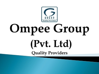 Ompee Group | Flats in Gurgaon| Real Estate