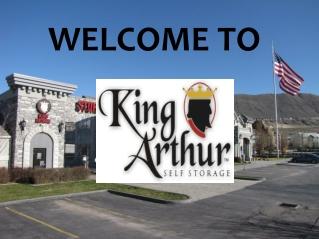 King Arthur Self Storage Draper and West Valley, Utah