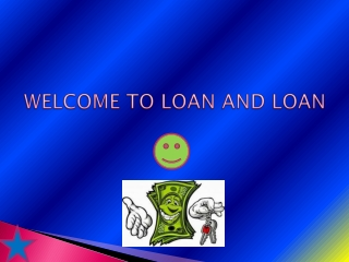 Get Loan Via Loanandloan