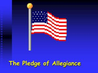 an evaluation of the issues on the use of under god in the pledge of allegiance Invocation and pledge of allegiance  i pledge allegiance to thee texas, one state under god, one and  issues raised may be referred.
