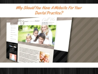 Benefits of Dental Website Design