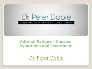Adrenal Fatigue Causes Symptoms and Treatment