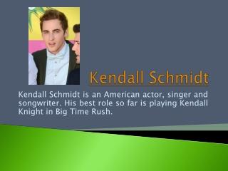 Kendall Schmidt Girlfriend