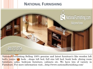 Buy Best Furniture Products Online -National Furnishing
