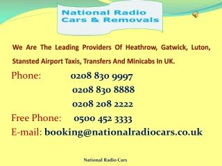 Heathrow Airport Taxi Service