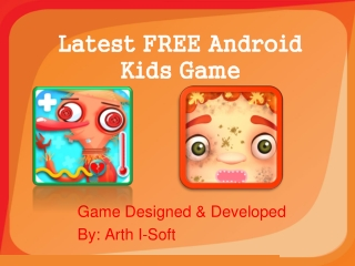 Latest FREE Android Kids Game