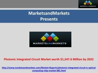 Photonic Integrated Circuit Market worth $1,547.6 Million