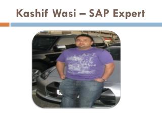 Kashif Wasi SAP Consultant