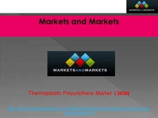 Thermoplastic Polyurethane Market