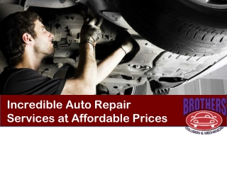 Brotherscollision - Auto Repair, Rochester, NY