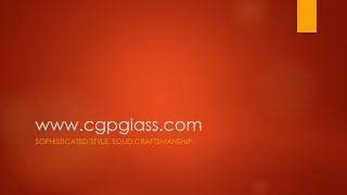 CGP Glass Presentation