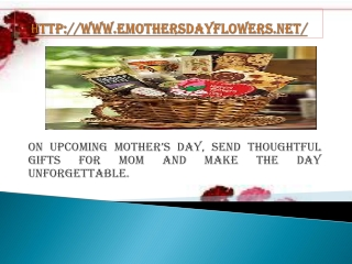 Online Mothers Day Gifts for your Loving Mom