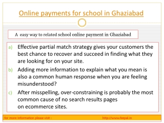 For those who want to excel  online payment for school in Gh