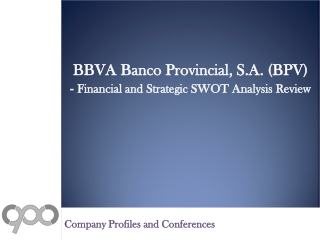 SWOT Analysis Review on BBVA Banco Provincial, S.A. (BPV)