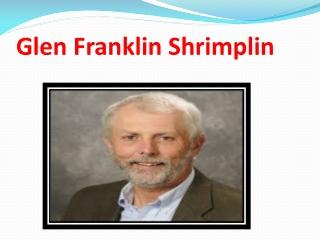 Glen Franklin Shrimplin