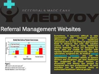 Medvooy referral management software