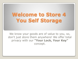 Self Storage - Extra Storage Singapore