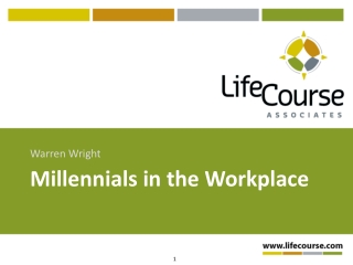 WBN Conference Presentation: Millennials in the Workplace
