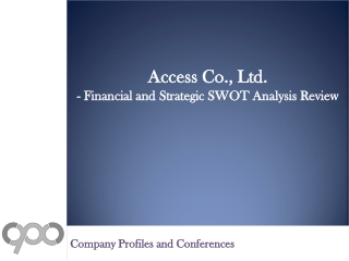 SWOT Analysis Review on Access Co., Ltd.