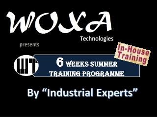 6 weeks/months Industrial training