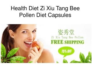 zi xiu tang bee pollen diet pills