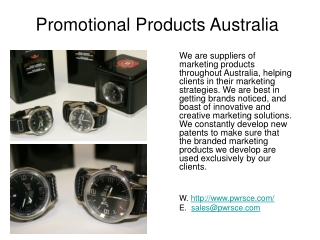 Complete Promotional Products Australia