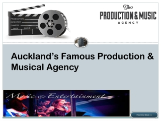 The Production Agency - Entertainment Company Auckland