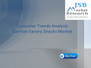 JSB Market Research - Consumer Trends Analysis- German