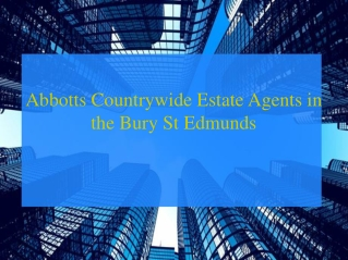 Abbotts Countrywide Estate Agents in the Bury St Edmunds